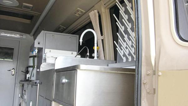 ZK5040XJC6水质检测车